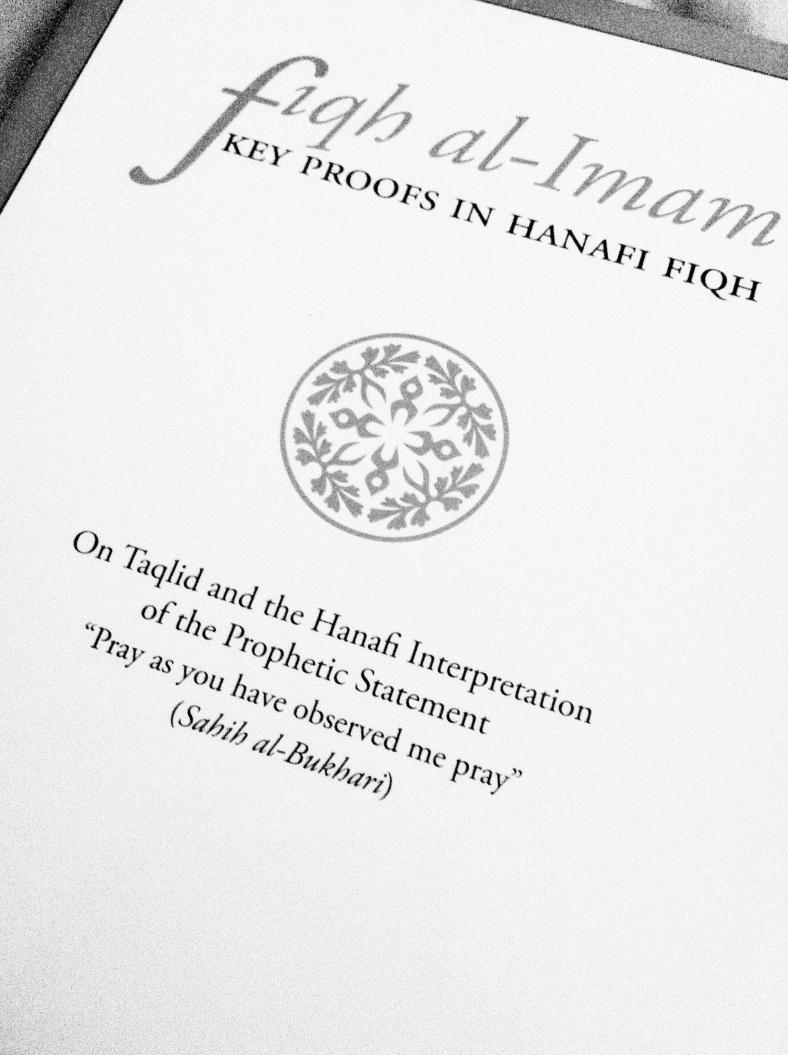 Fiqh al Imam