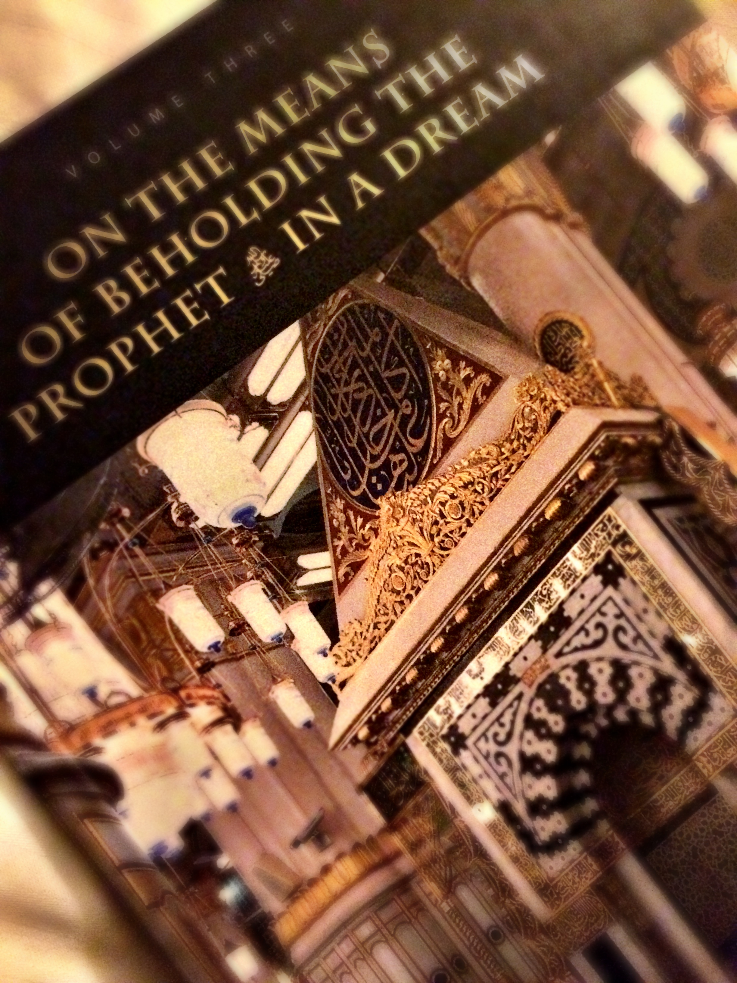 Book Review: On the Means of Beholding The Prophet in a Dream   A ...